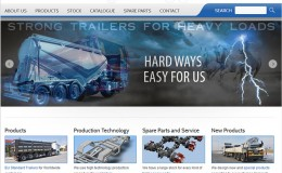 BAF Trailer Web Site