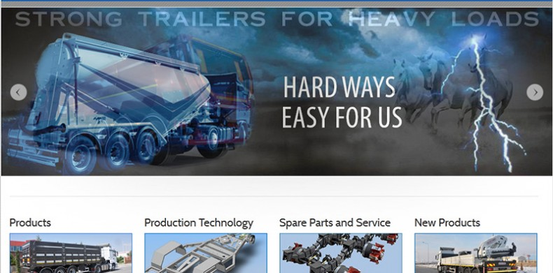 BAF Trailer Web Site